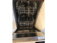 Indesit intergrated slimline dishwasher