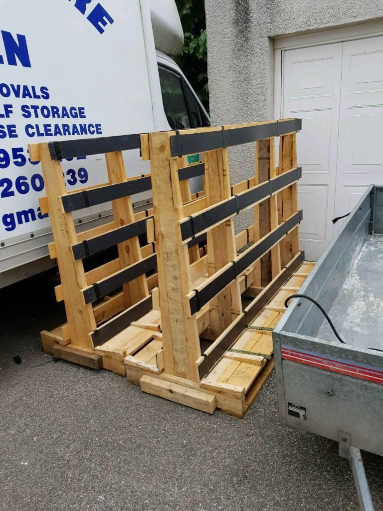 Wooden tressels pallet free - 2 left   in Aberdeen   Gumtree