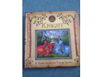 Pop up 'How to be a knight' book, good condition