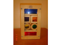 Wonderworld quality wooden sensory toy - rainbow blocks - £10 SORRY NO OFFERS
