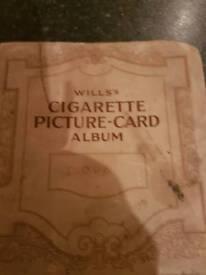 Cigarette picture cards