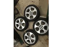 "BBS Monza 17"" VW Audi group fitment"
