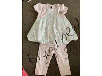 Girls 0-3 months outfit