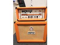 Orange th30 amp head and 2x12 open back cab