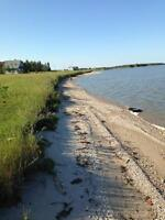 Waterfront lot for sale North of Gimli(Price Reduction)