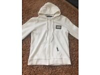Dolce and Gabanna cream hoodie authentic