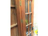 Wooden doors - assorted sizes £40