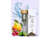 Eco Friendly Double Wall Borosilicate Bottle Glass Tea, Coffee and Fruit Infuser