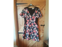 Floral dress by Oasis size M