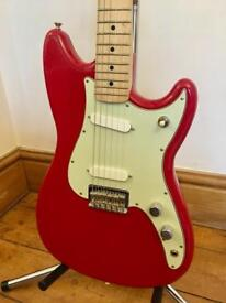 2016 Fender Duo Sonic Guitar - Torino Red - *Mint*