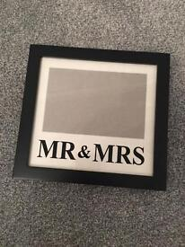 Mr&Mrs Frame and Marriage Rules plaque