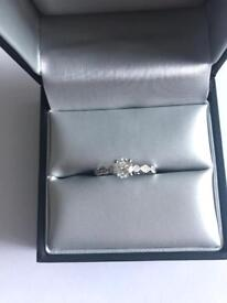 1/2 carrot diamond ring