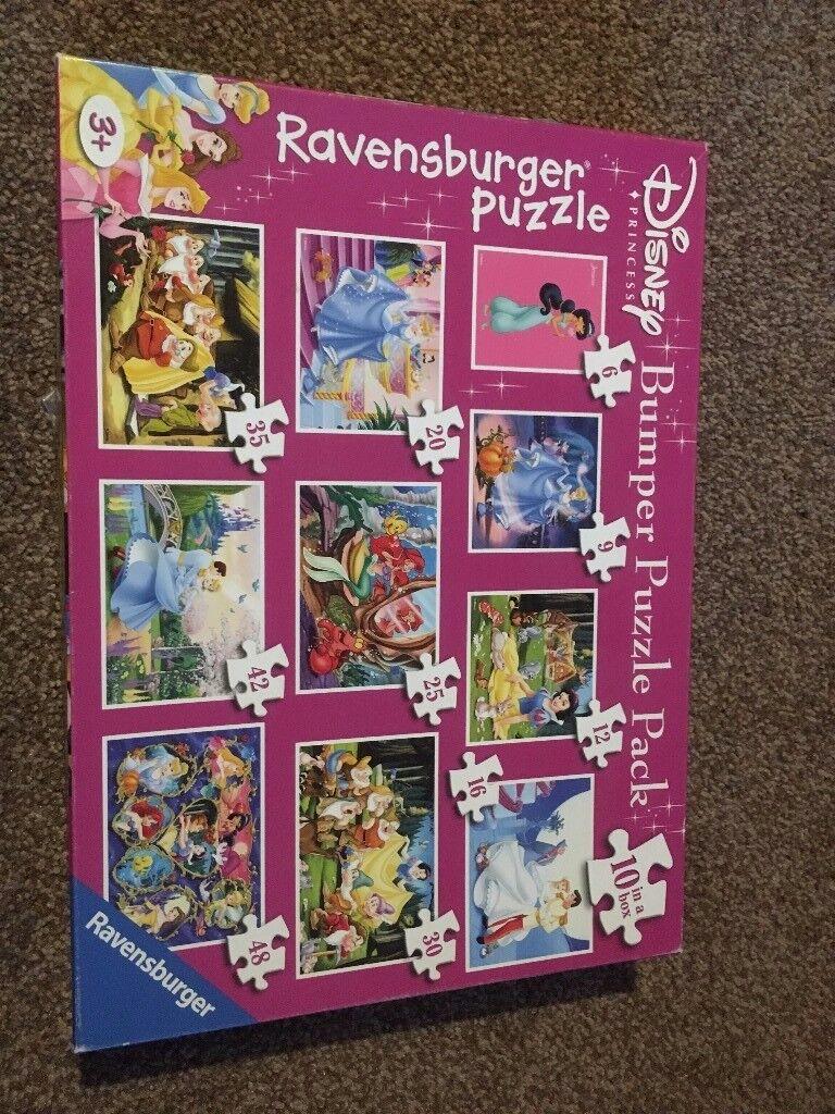 Disney Princess Ravensburger Bumper Puzzle Pack £10