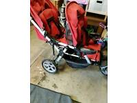 Jane dual traveller double buggy