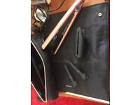GHD hair straighteners full set for sale