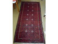 Genuine Vintage Handmade Persian Rug, 290 x 144 CM, over 10 kg