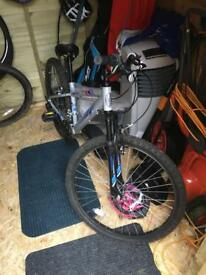 Mountain bike Apollo would suit someone 8-13 years of age
