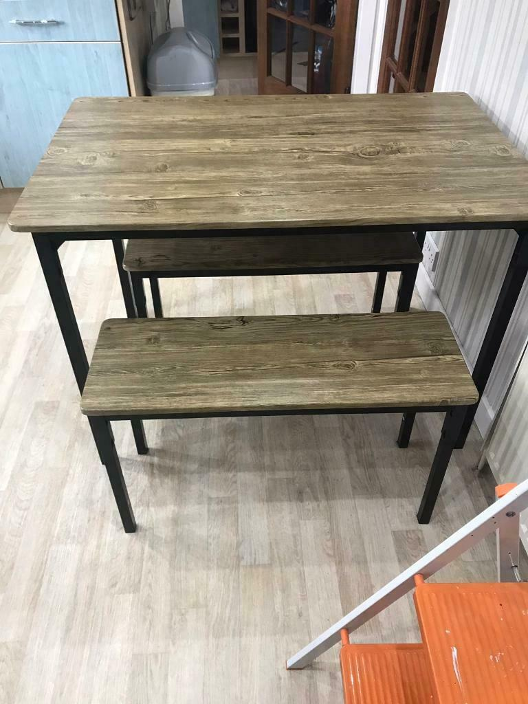 Dining Table And Bench Set Perth