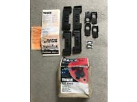 Thule Rapid system roof foot kit 1003 good condition - also selling roof bars see other ad!