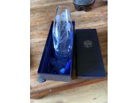 Stuart Crystal bud vase