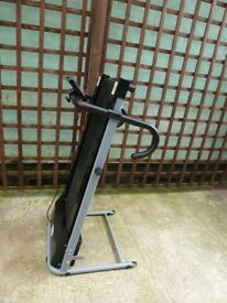 Electric Treadmill, Homcom. Folding design. As new used only once.