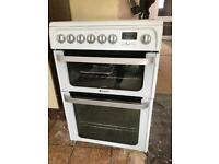 Hotpoint free standing cooker