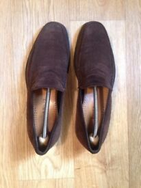 Russell & Bromley Mentor, Men Loafers, Size 42.5, Brown