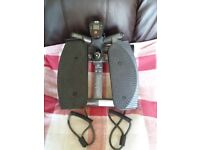 Body Sculpture Stepper. Excellent condition. Electronic timer, resistant arm cords.