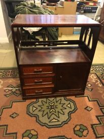 Mahogany Cabinet With Drawers