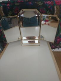 Folding unused LAURA ASHLEY mirror