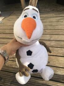 Larger Soft toy Olaf