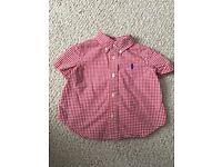 Ralph Lauren shirt 9 months