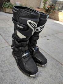Alpinestar Tech 3 MX boots .