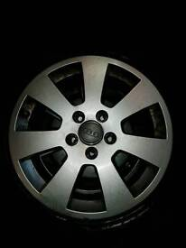 14 plate 16 inch Audi a3 alloys and tyres
