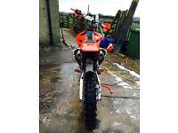 Crf 250 twin pipe looking to swap