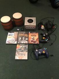 Platinum gamecube, 4 games + bongos
