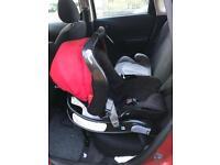 Graco Baby car seat, base and adaptor