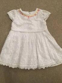 Monsoon Dress Age 12-18 Months