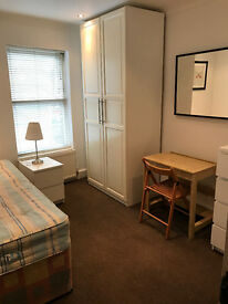 2 x ROOMS (SINGLE AND DOUBLE) IN CLEAN AND QUIET HOUSE, 3 MIN WALK TOTTENHAM HALE TUBE, PROFESIONALS