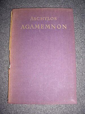 Äschylos/Aischylos, Agamemnon, Berlin o.J. (ca. 1920er Jahre)