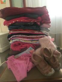40x clothes for girl 3-4 yrs