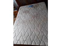 Used Double Mattress in a clean condition from a pet free smoke free home will do for start up home