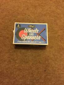 Wheels and spanners game *new*