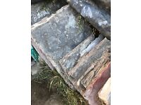 Dressed flagstones for sale. Approx 13m2