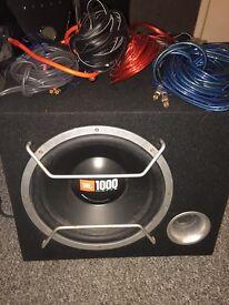Jbl 1000W sub