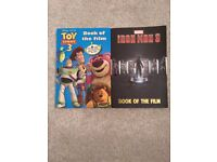 Iron man 3 + Toy story 3 - both are books of the film