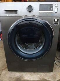 SAMSUNG AddWash WW90K6414QX/EU Washing Machine - Graphite RRP £799 NEW wtih 2 year warranty