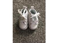 Baby converse trainers size 1
