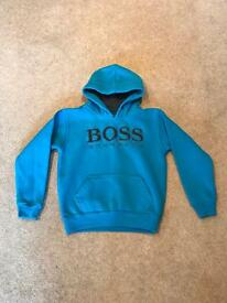 Boys Hugo Boss sweatshirt.