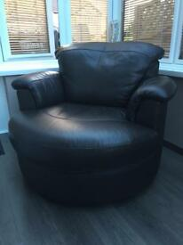 Leather single seat